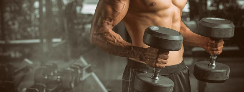 men-exercise-with dumbbells