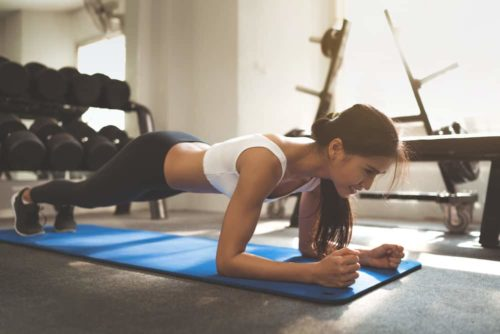 Planking-exercise
